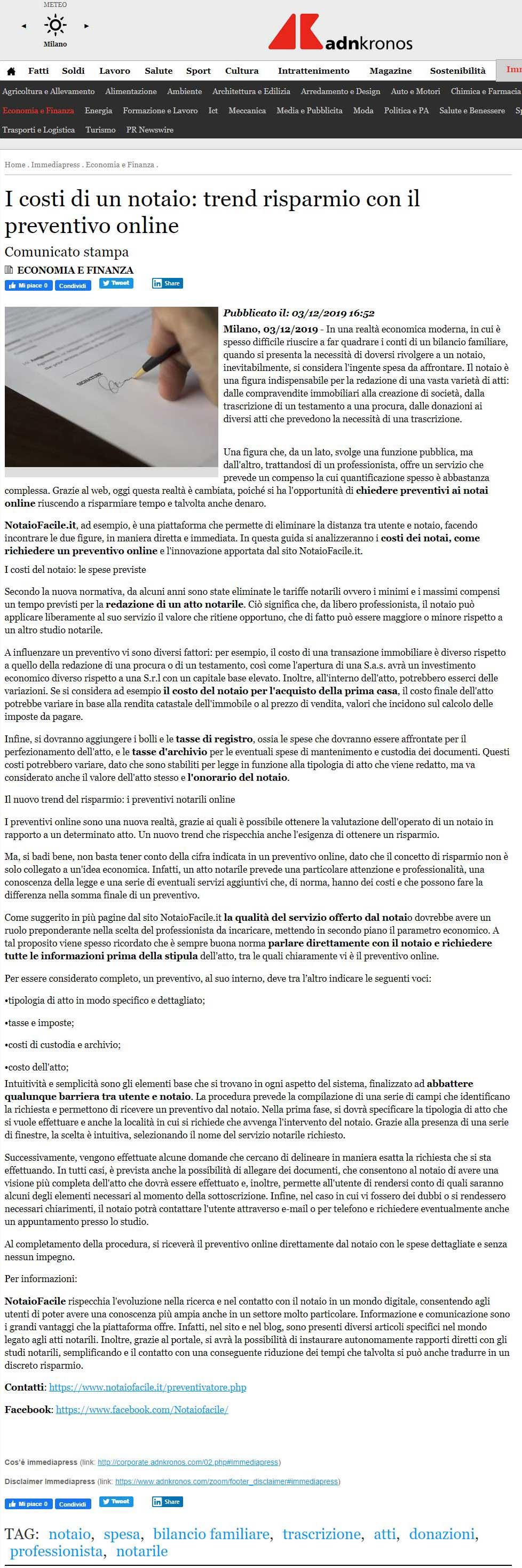 andkronos notaio facile