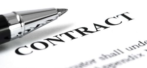 creazione del contratto dal notaio